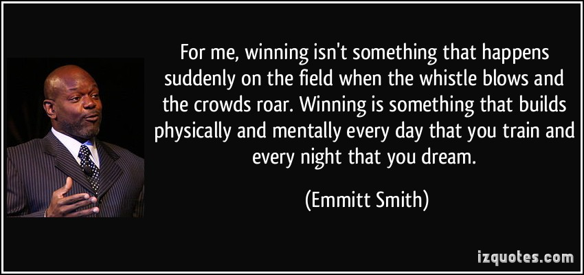 Emmitt Smith's quote #8