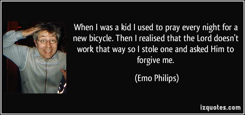 Emo Philips's quote #1