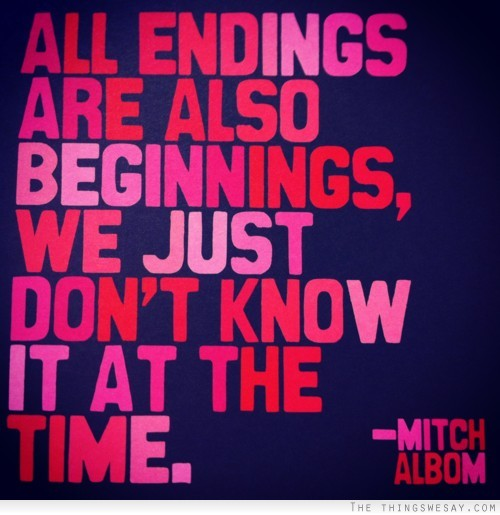 Endings quote #2