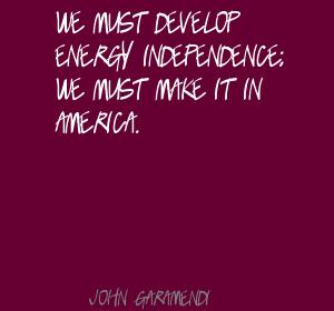 Energy Independence quote #2