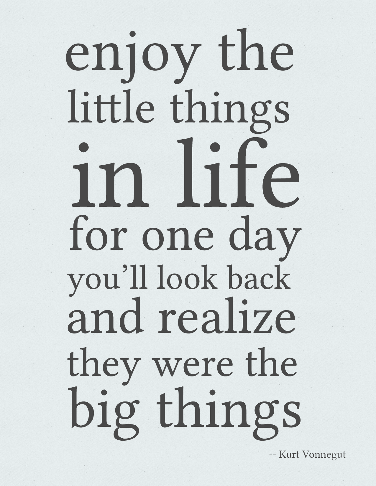 Enjoy quote #1