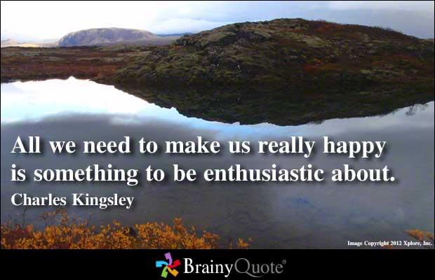 Enthusiastic quote #1