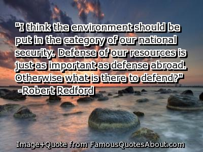 Environmental quote #6