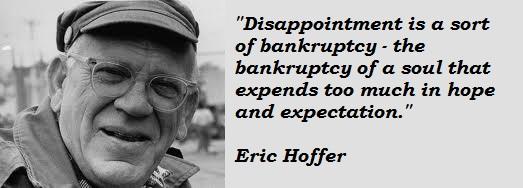Eric Hoffer's quote #8