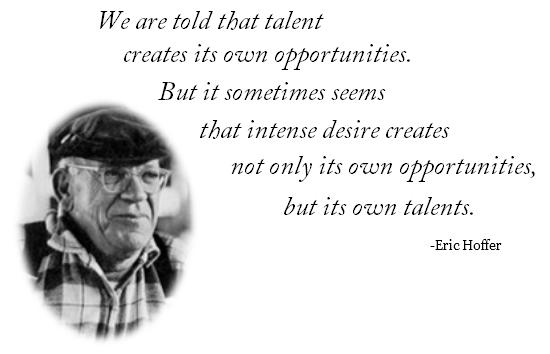 Eric Hoffer's quote #5