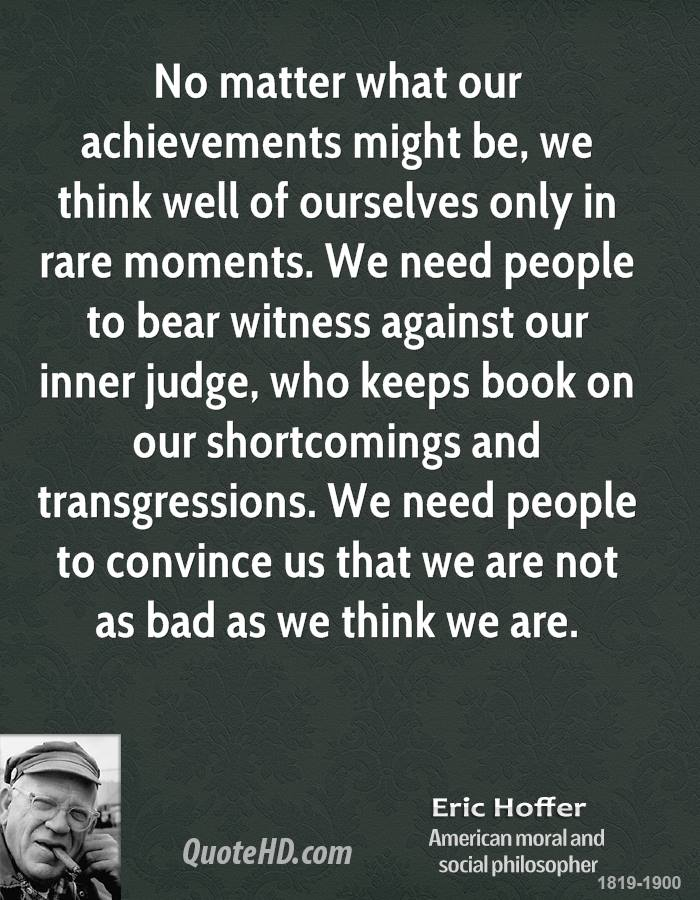 Eric Hoffer's quote #4