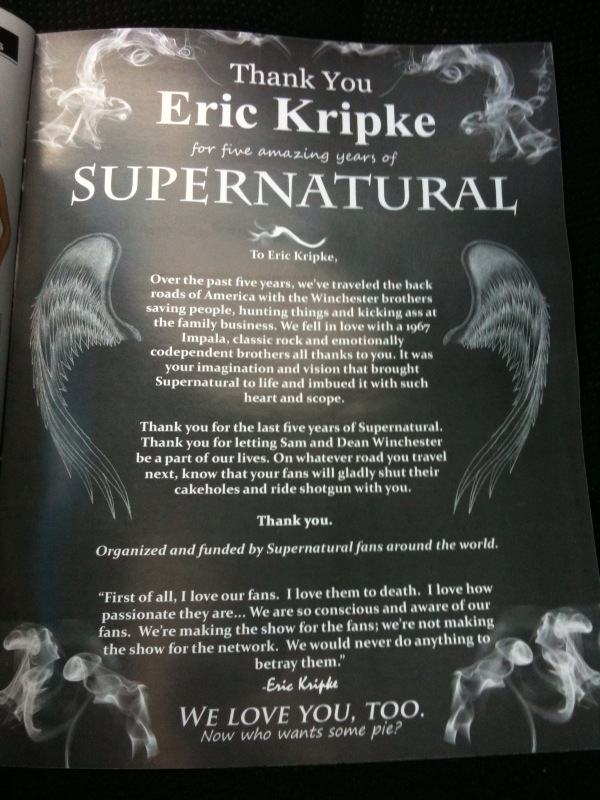 Eric Kripke's quote #4
