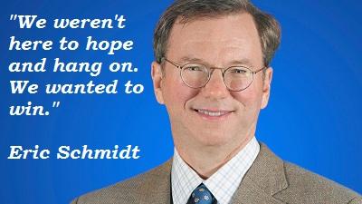 Eric Schmidt's quote #3