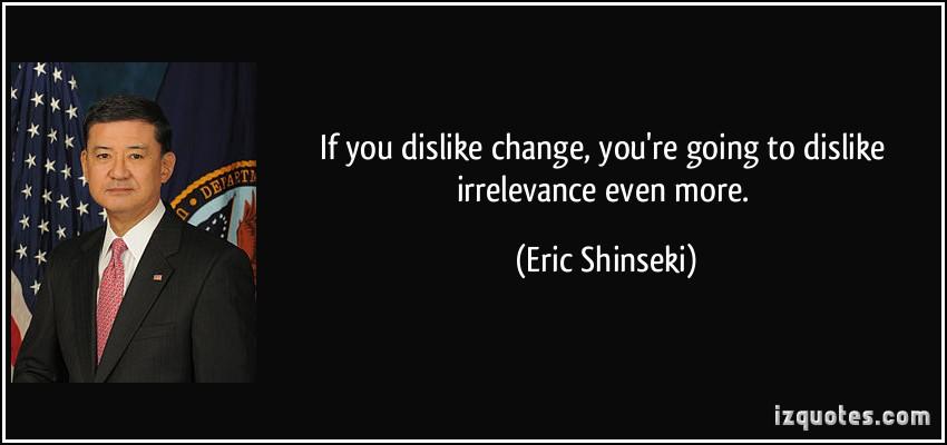 Eric Shinseki's quote #1