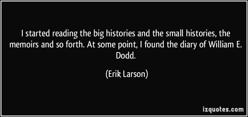 Erik Larson's quote #2