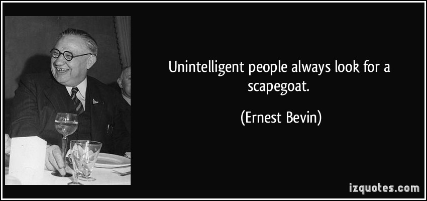 Ernest Bevin's quote #1