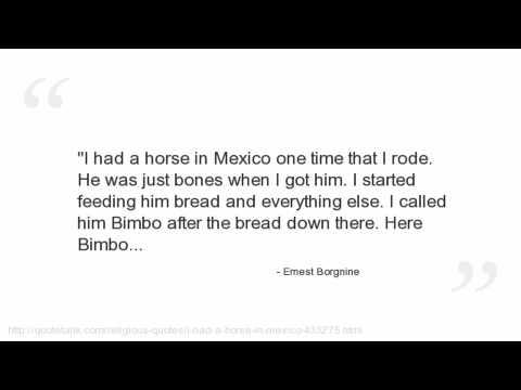Ernest Borgnine's quote #1