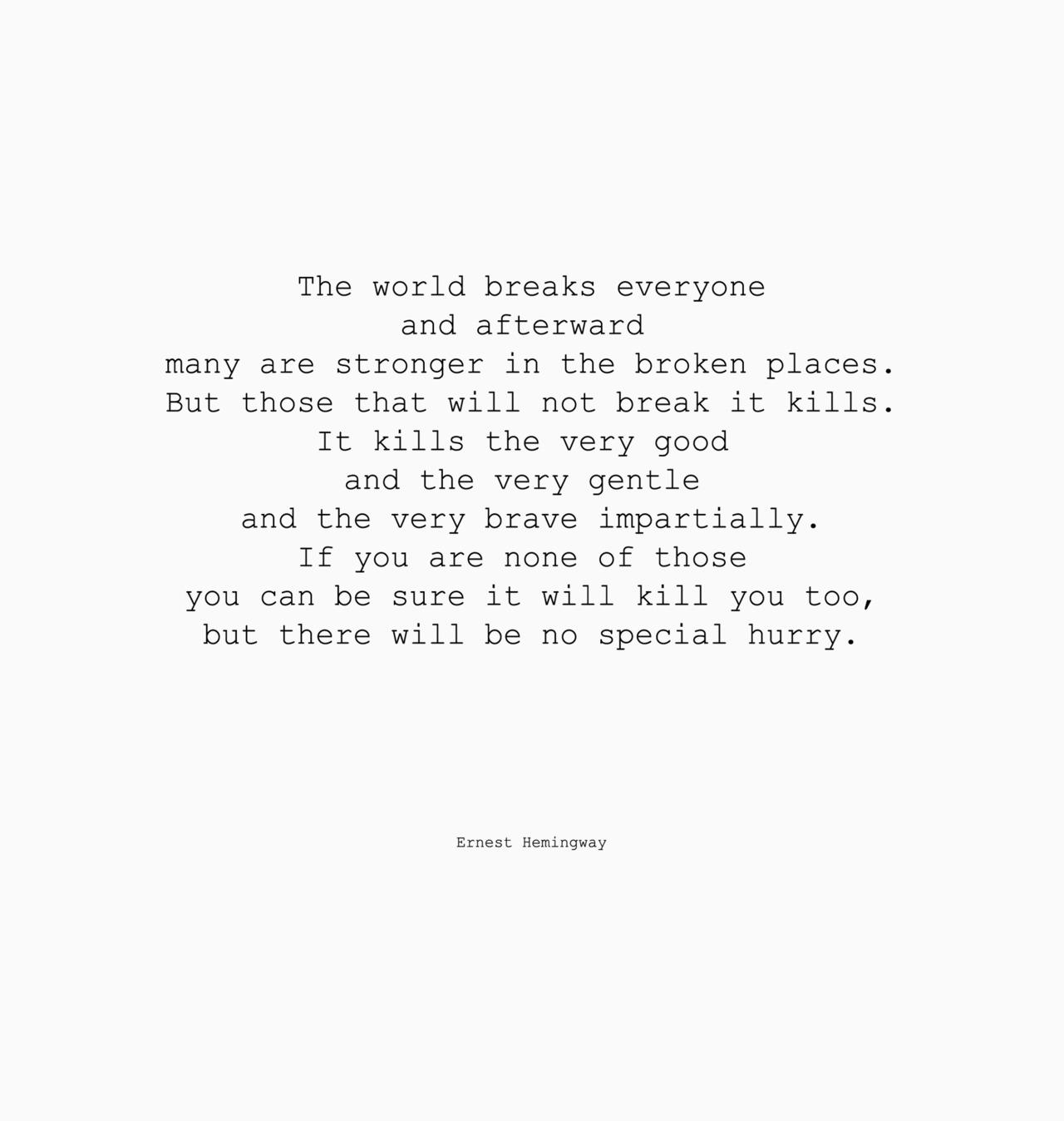 Ernest Hemingway quote #2