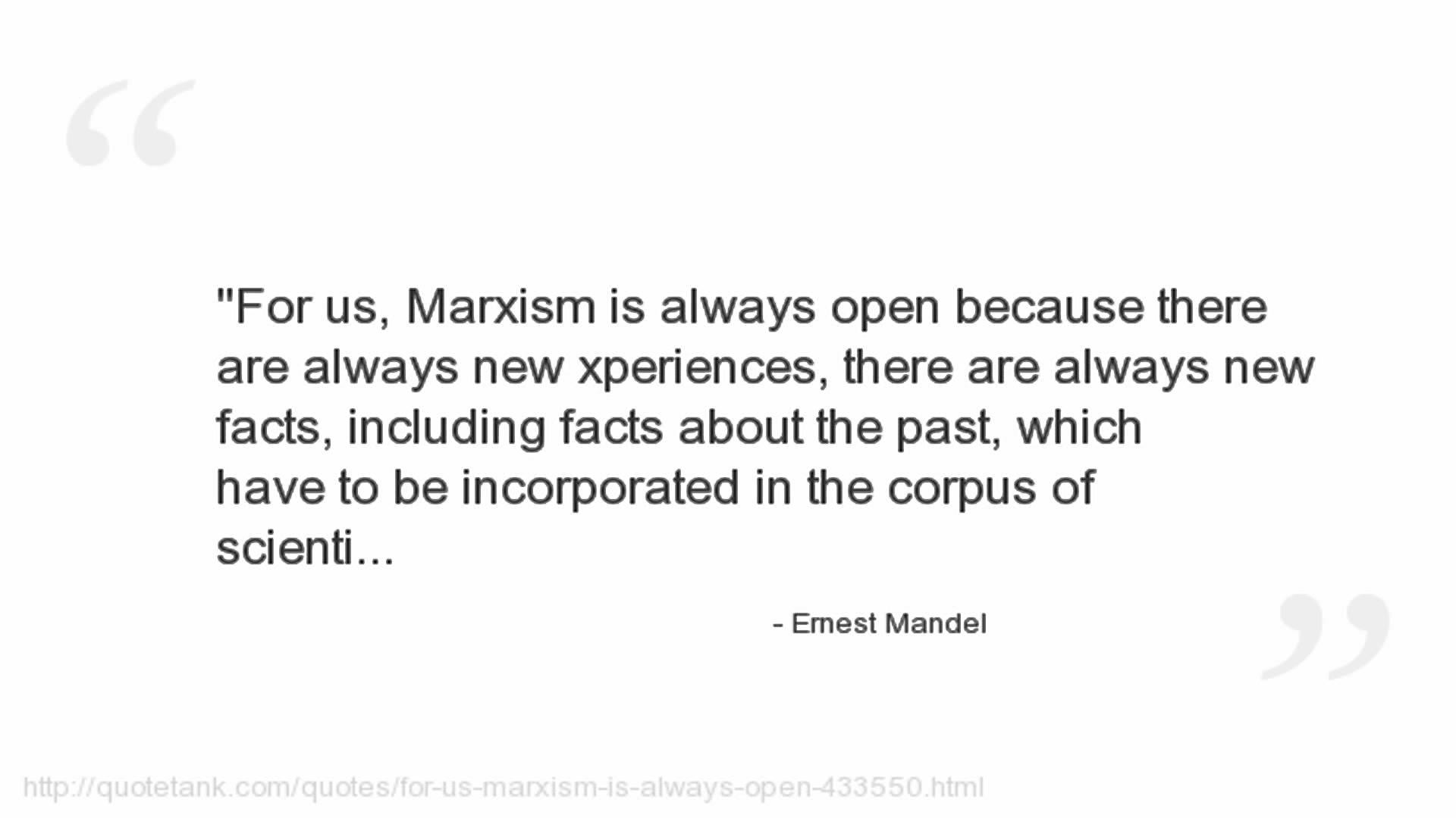 Ernest Mandel's quote #8