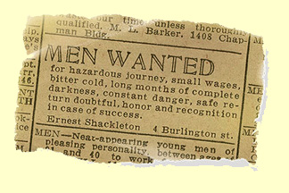 Ernest Shackleton's quote #3