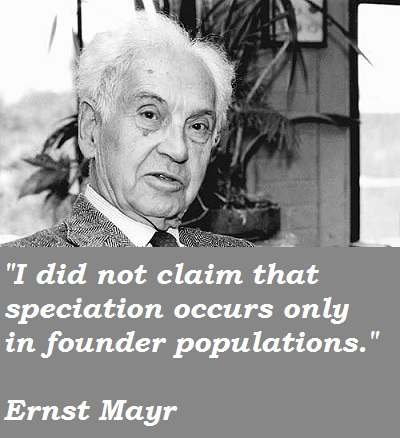 Ernst Mayr's quote #4