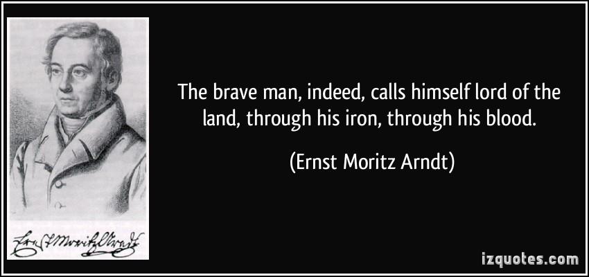 Ernst Moritz Arndt's quote #6