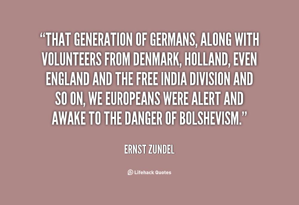 Ernst Zundel's quote #8