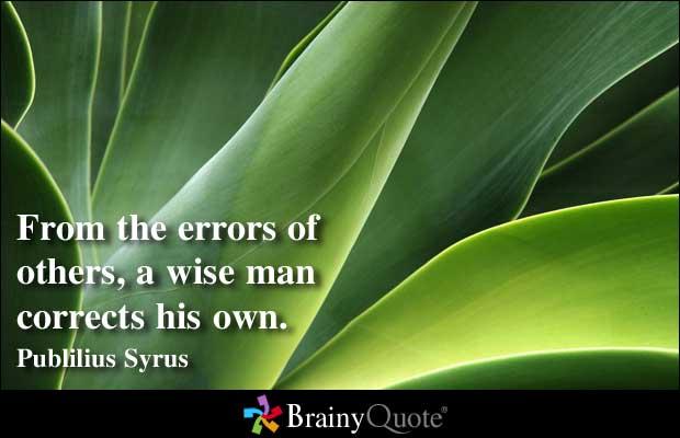 Errors quote #2