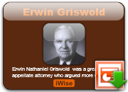 Erwin Griswold's quote #1
