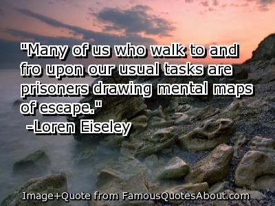 Escapism quote
