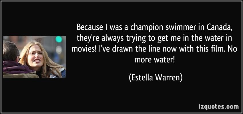 Estella Warren's quote #1