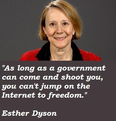 Esther Dyson's quote #5
