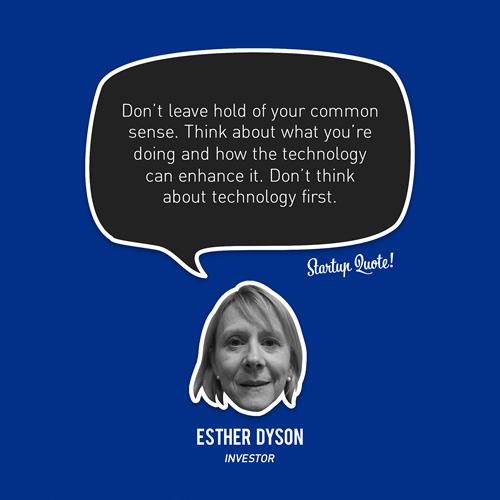 Esther Dyson's quote #4