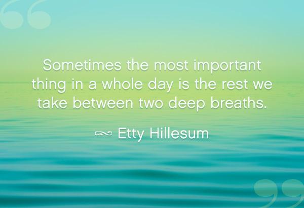 Etty Hillesum's quote #1