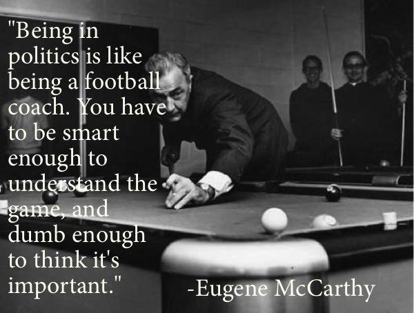 Eugene McCarthy's quote #6