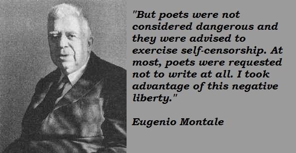 Eugenio Montale's quote #3