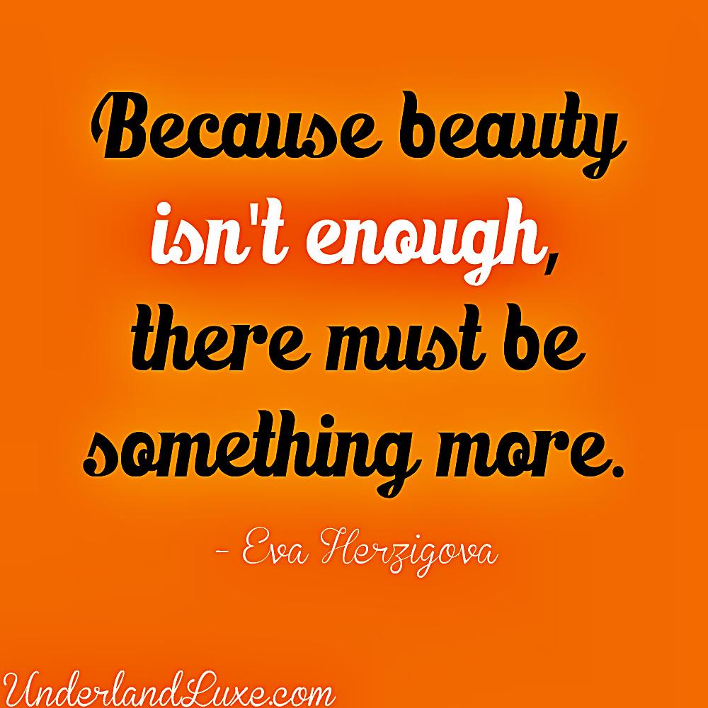 Eva Herzigova's quote #3