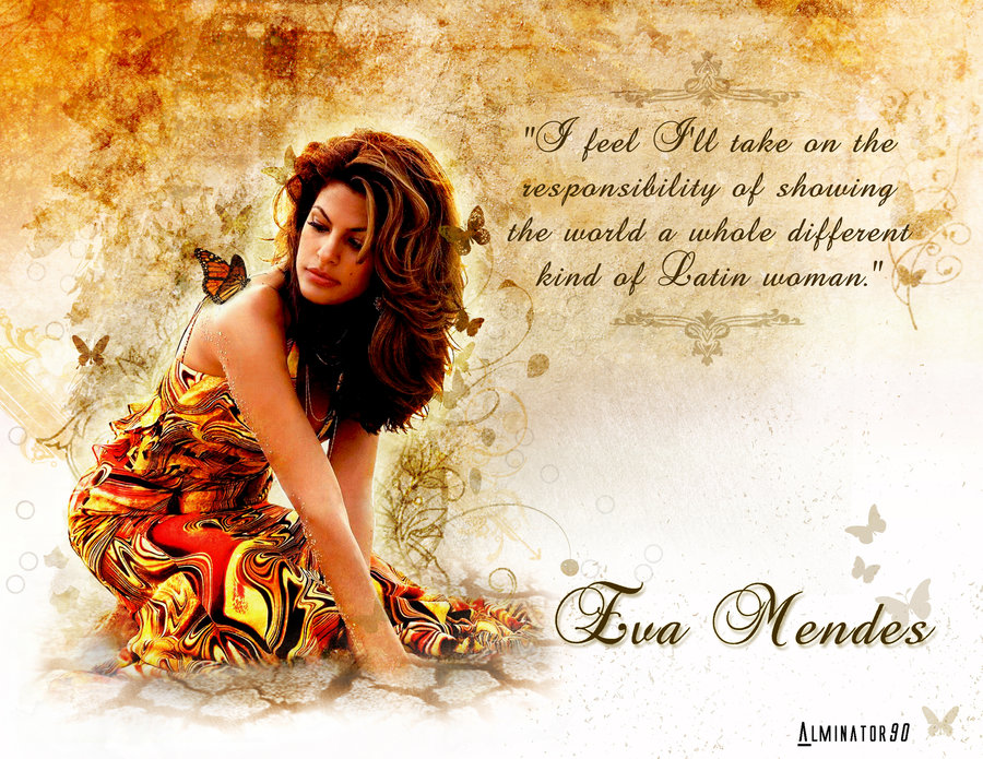 Eva Mendes's quote #7