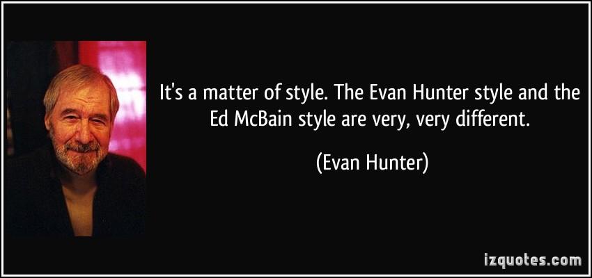 Evan Hunter's quote #3