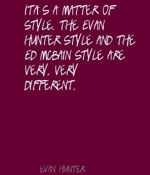 Evan Hunter's quote #7
