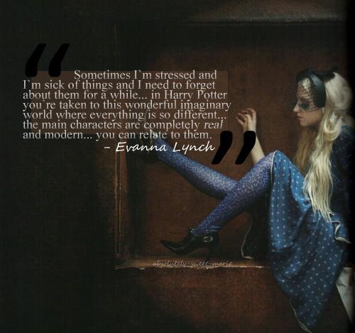 Evanna Lynch's quote #4