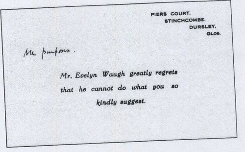 Evelyn Waugh's quote #7