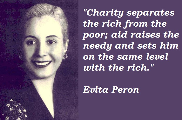 the life of evita peron Learn about eva peron: her birthday, what she did before fame, her family life, fun trivia facts, popularity rankings, and more.