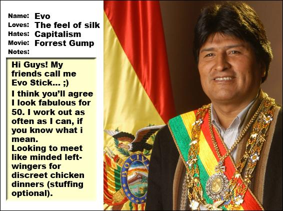 Evo Morales's quote