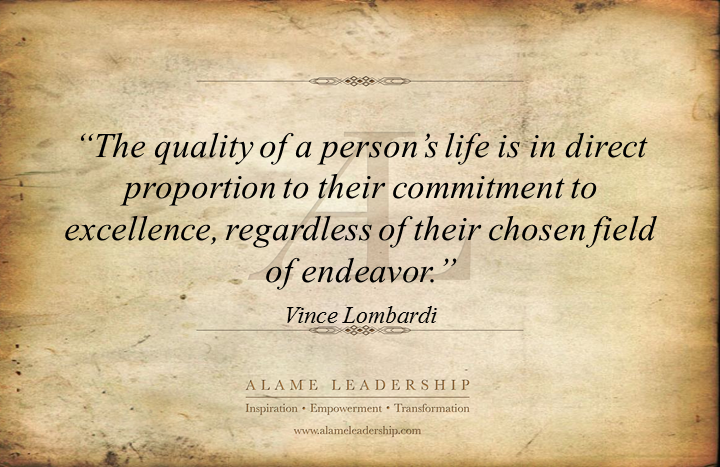 Excellence quote #3