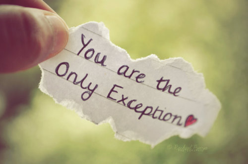 Exception quote #8