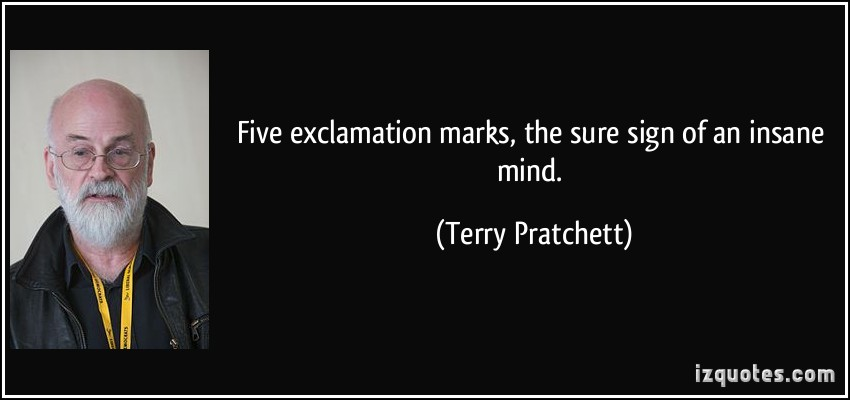 Exclamation quote #1