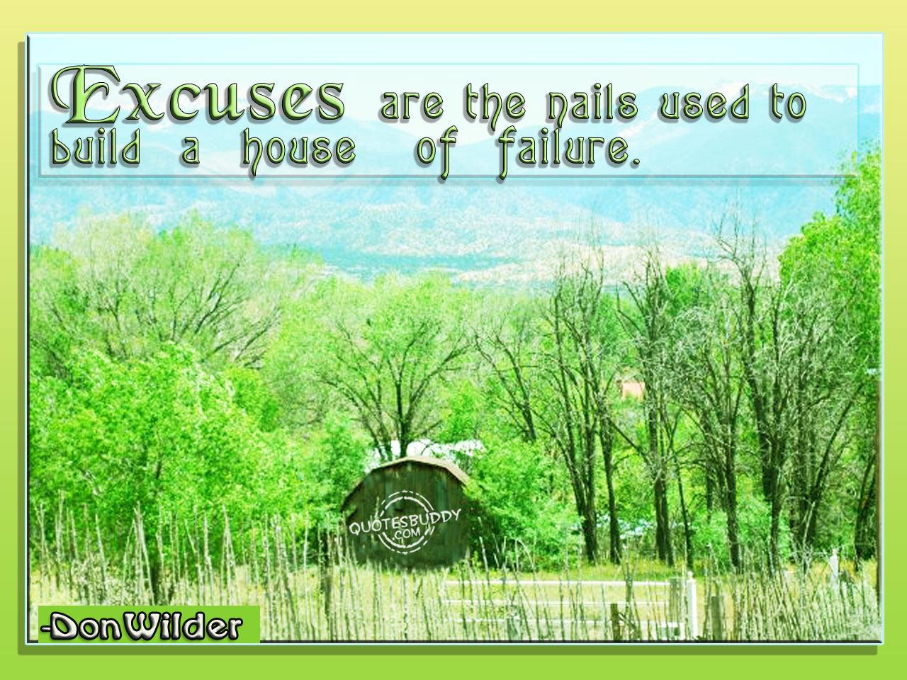 Excuse quote #1