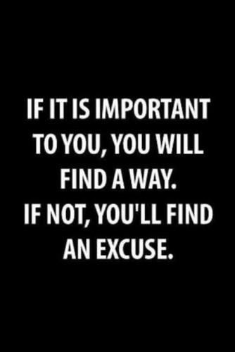 Excuse quote #3