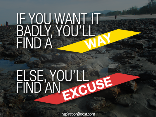 Excuse quote #8