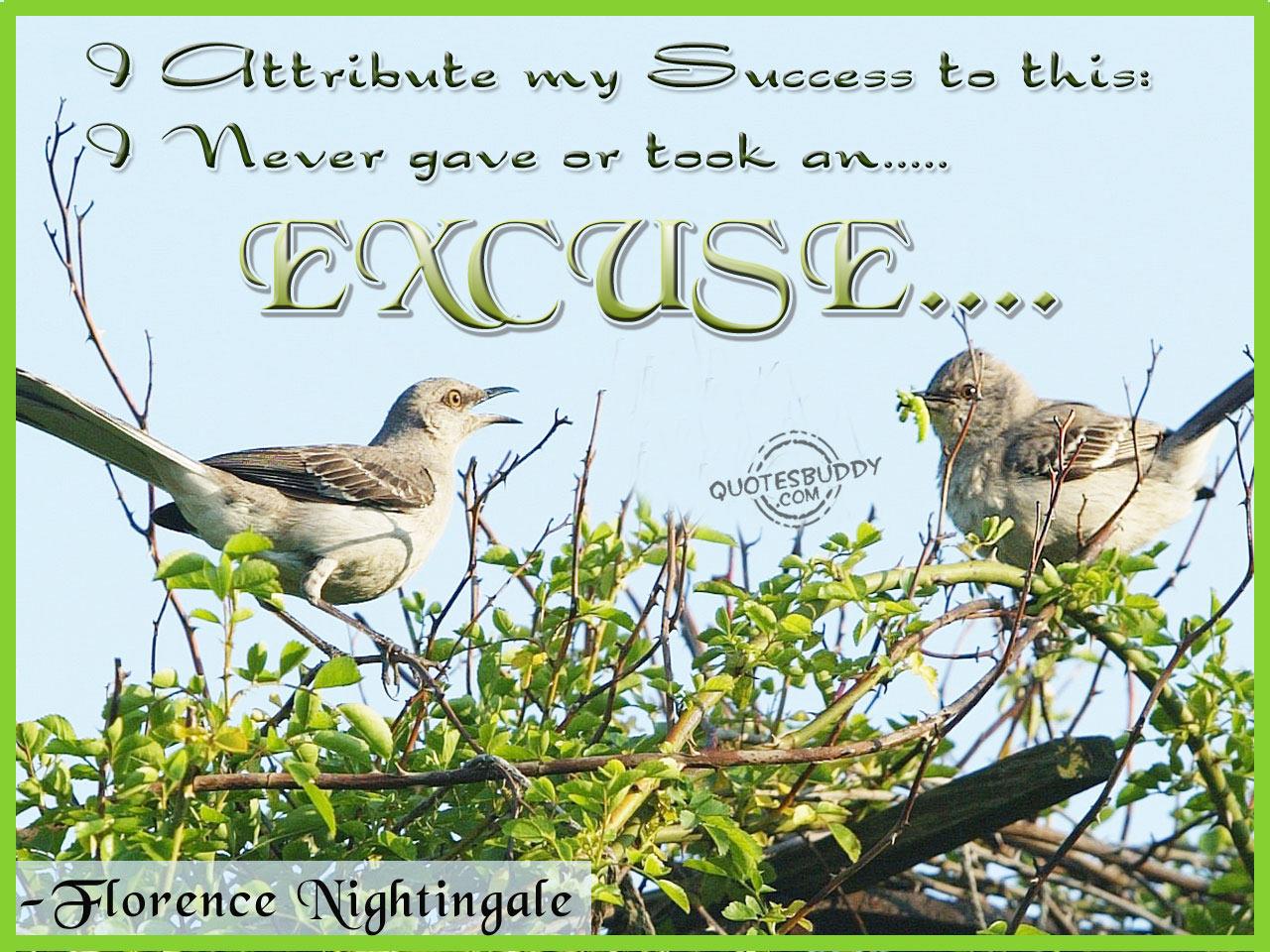 Excuse quote #5