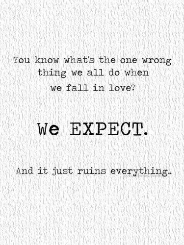 Expectancy quote #2