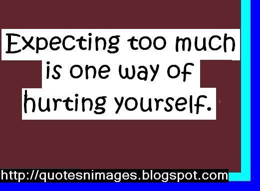 Expectancy quote #1