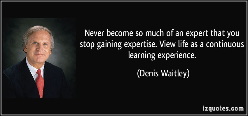 Expertise quote #1