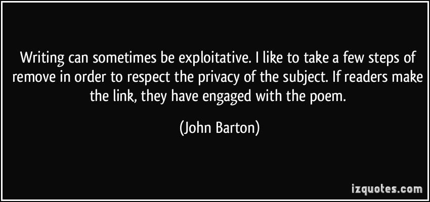 Exploitative quote #1